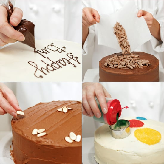 6 Easy and Modern Cake-Decorating Ideas