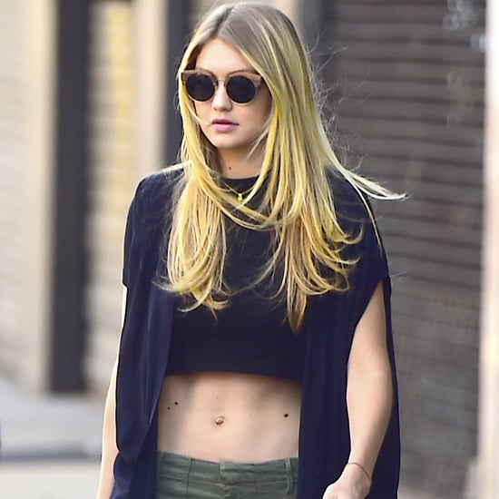 Celebrities Wearing Crop Tops 2015