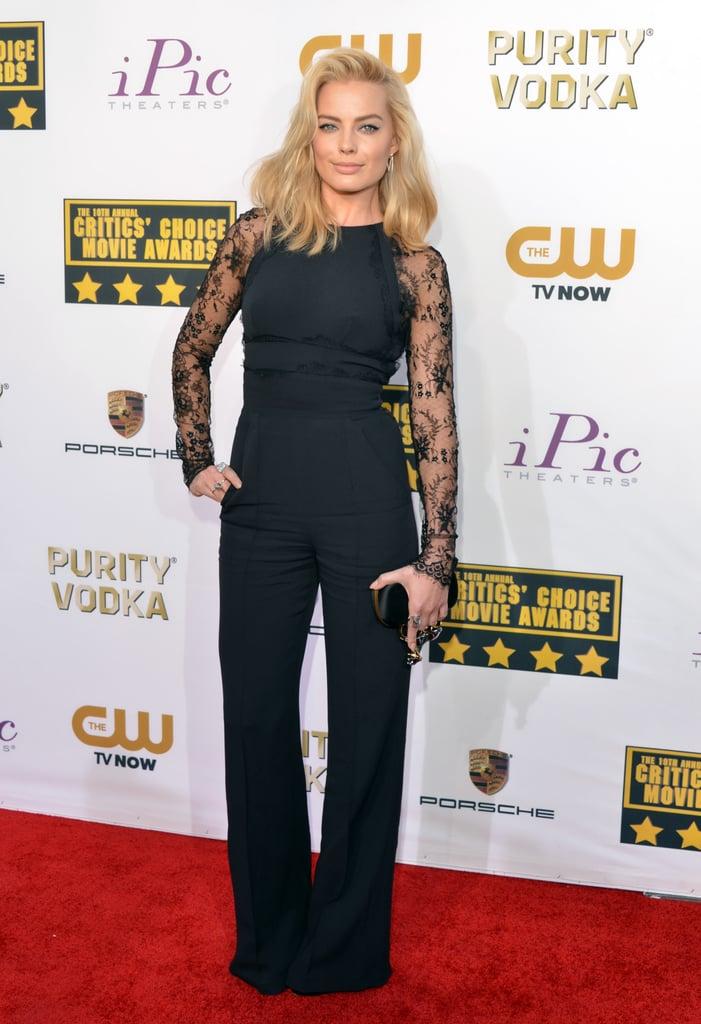 Margot Robbie at the Critics' Choice Awards 2014