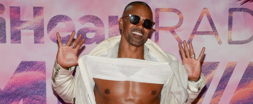 Shemar Moore Just Can't Stop Flashing His Abs at the iHeartRadio Much Music Video Awards