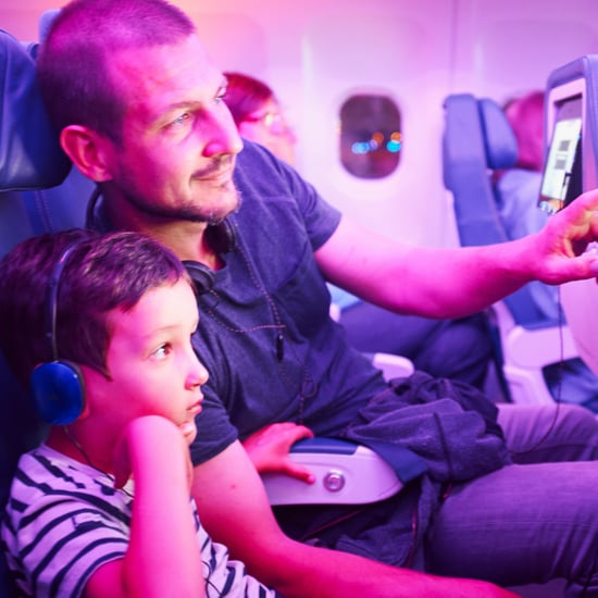 Families Sitting Together on Airplanes