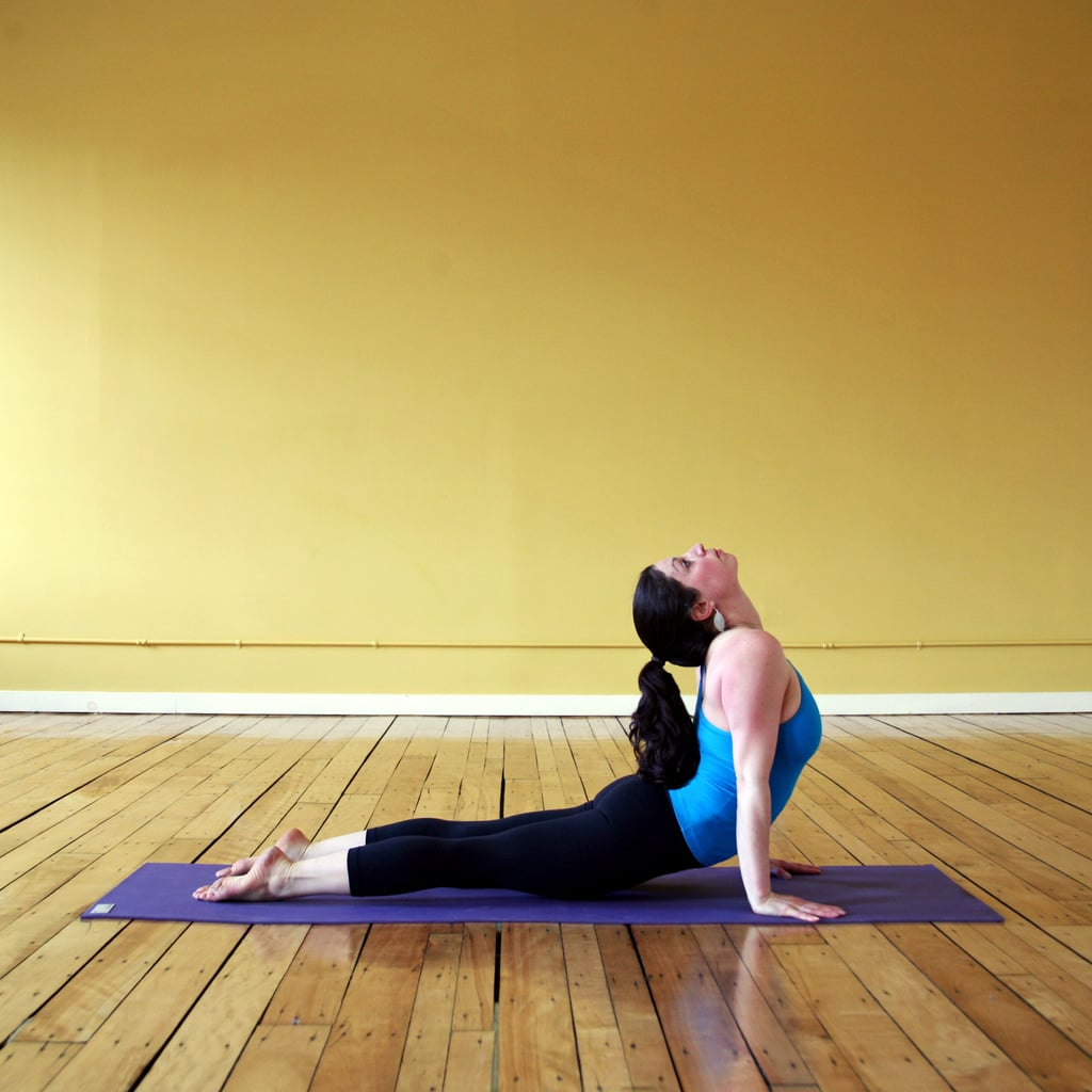 Your Chest in Upward Facing Dog