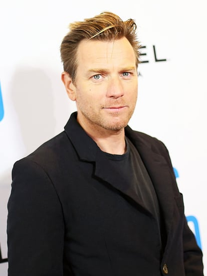 Ewan McGregor Has a Laugh After Almost Being Driven Off the Road