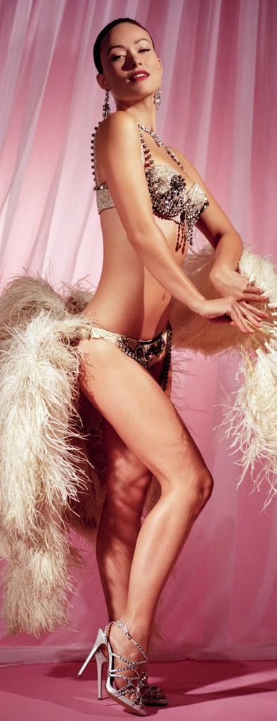 Olivia Wilde is a showgirl in the new Vanity Fair.
