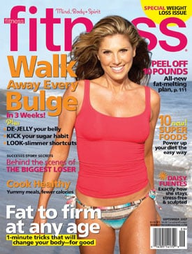 Daisy Fuentes in Fitness Magazine