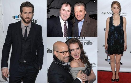 Photos and Winners of 2009 Gotham Independent Film Awards With Ryan Reynolds, Natalie Portman, Brooke Shields, Meryl Streep