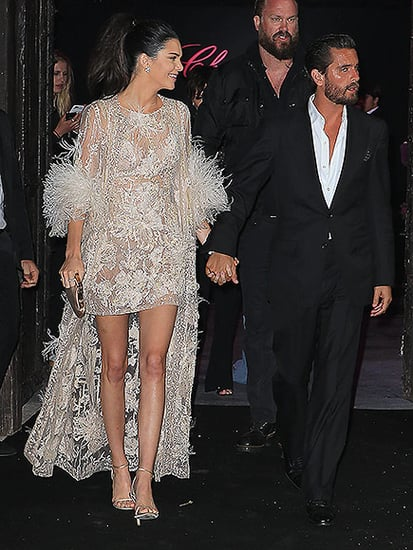 Scott Disick Parties With Kendall and Kris Jenner in Cannes - After Showing Some Serious PDA with Brunette on a Yacht