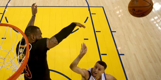 Every Photo We Could Find Of LeBron James Blocking Shots In The 2016 NBA Finals