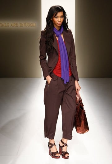 Chanel Iman Models Bottega Veneta Cruise 2010