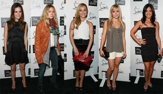 Cute Overload at Louboutin Party
