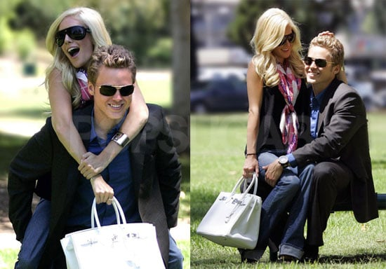 Photos of Heidi Montag and Spencer Pratt on The Day of Season Four Premiere of The Hills