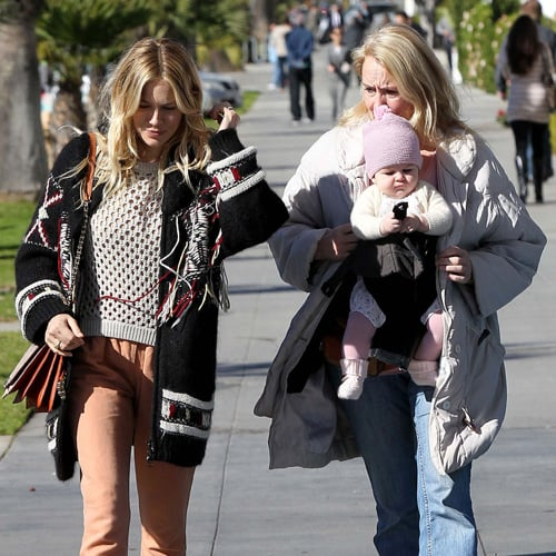 Sienna Miller and Baby Marlowe in Santa Monica   Pictures