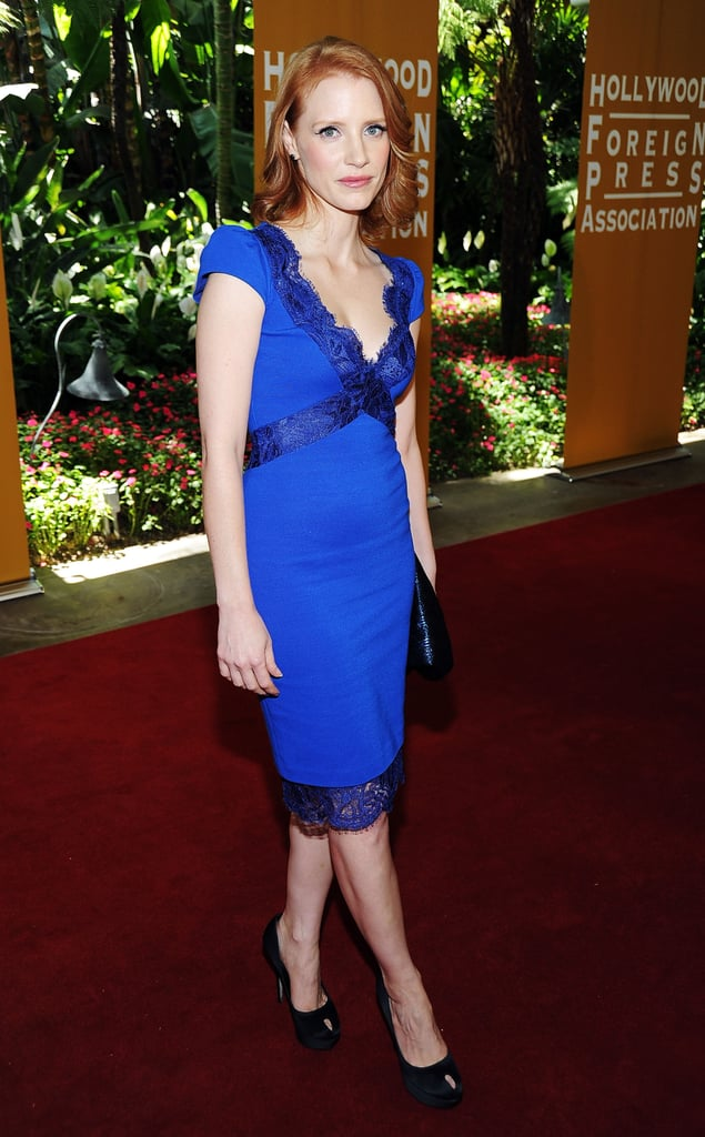 Jessica Chastain costars in The Help.