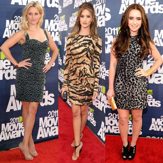 Celebrities at the 2011 MTV Movie Awards