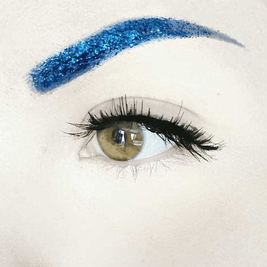 Glitter Eyebrows Trend