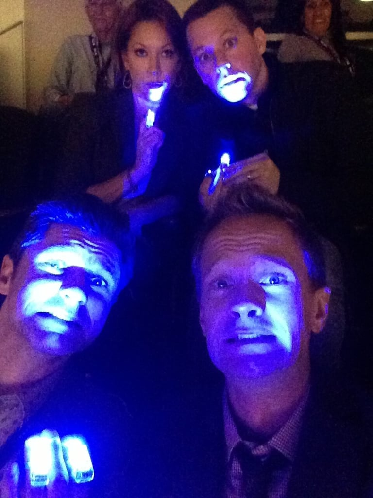 Neil Patrick Harris and Jon Cryer got nervous during the Superdome blackout. Source: Twitter user actuallyNPH