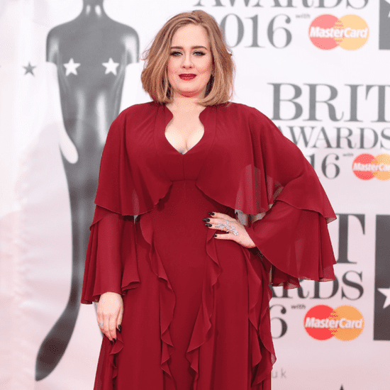 Adele's Dress at the Brit Awards 2016