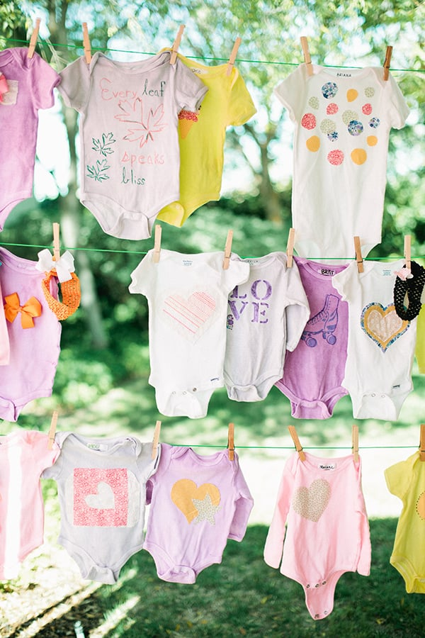 onesie decorating activity 36 tips and tricks to make your baby
