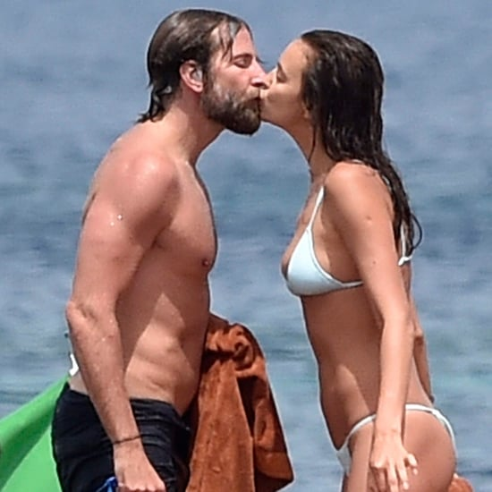 Bradley Cooper and Irina Shayk Kissing in Italy July 2016