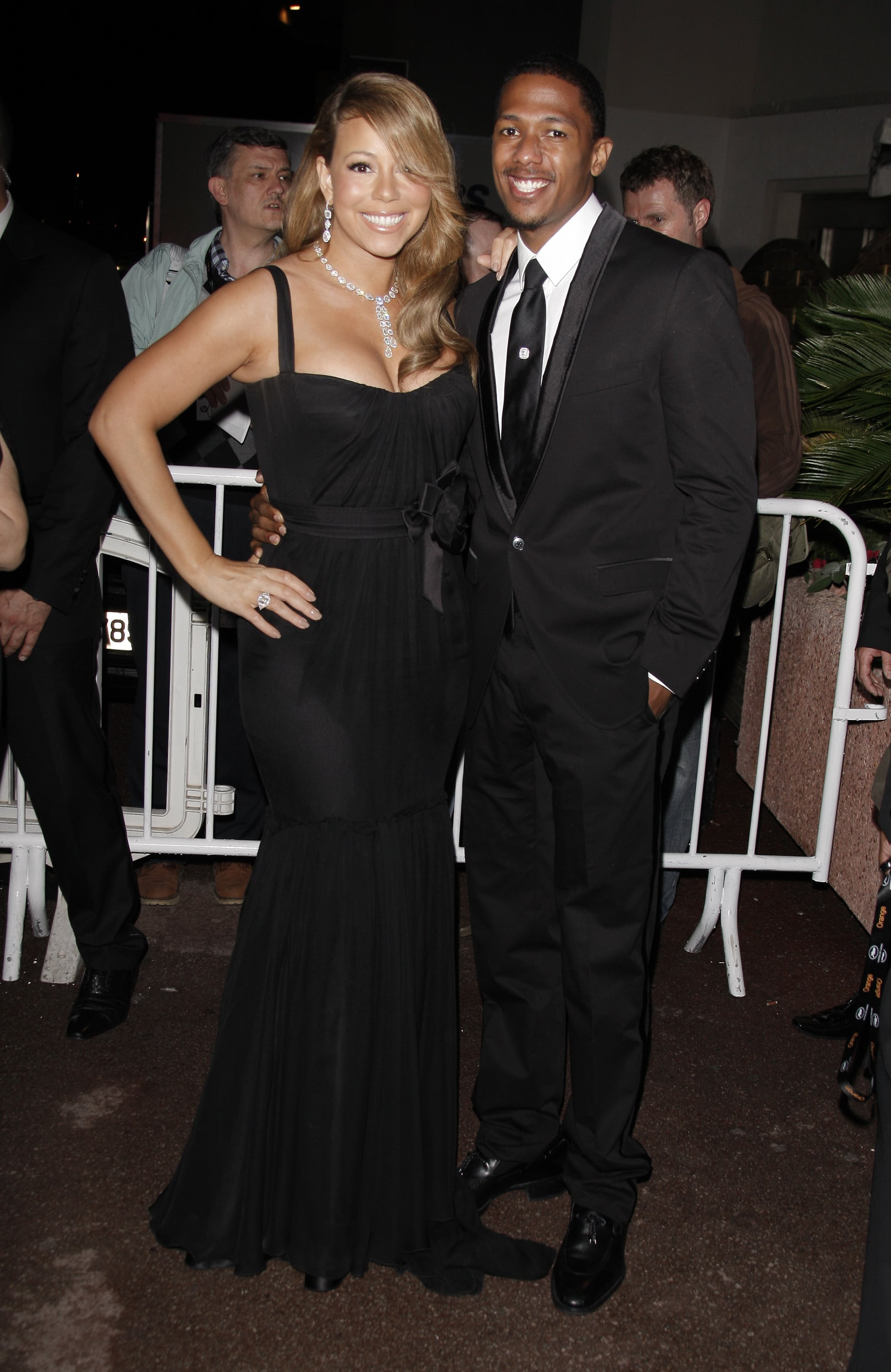 Mariah Carey and Nick Cannon in 2009