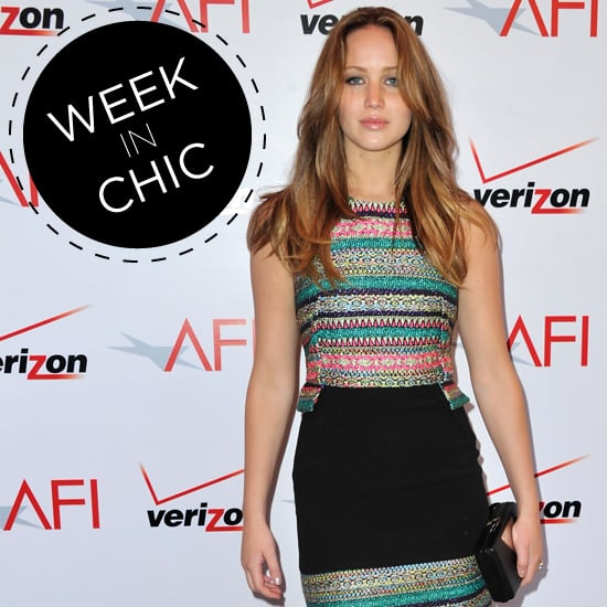 A Week In Chic: Jennifer Lawrence