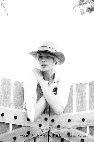 Julia Stegner in Rag and Bone DIY Project | Pictures