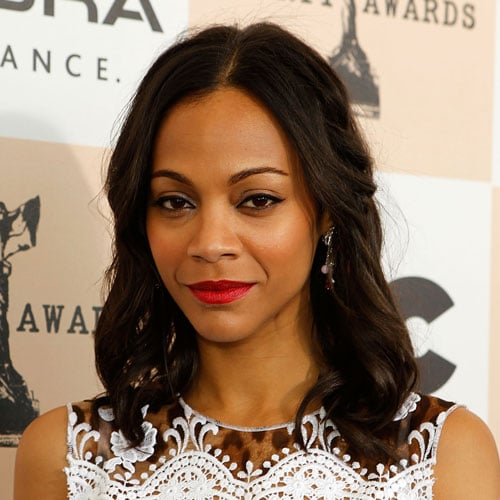 Zoe Saldana at Independent Spirit Awards 2011