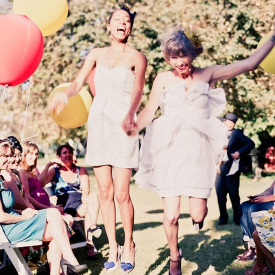 Très is giving us a look at some of the most gorgeous same-sex ceremonies you'll ever see.