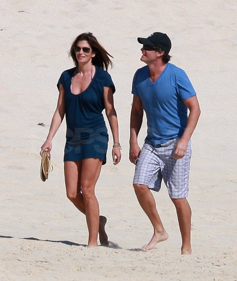 Pictures of Cindy Crawford and Rande Gerber in Mexico