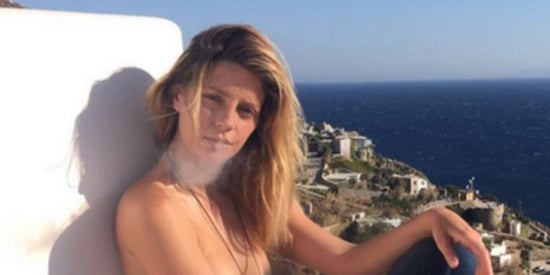 Here's A Topless Cigarette-Smoking Mischa Barton To End Your Day