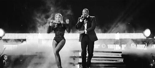 The couple that performs together, stays together.