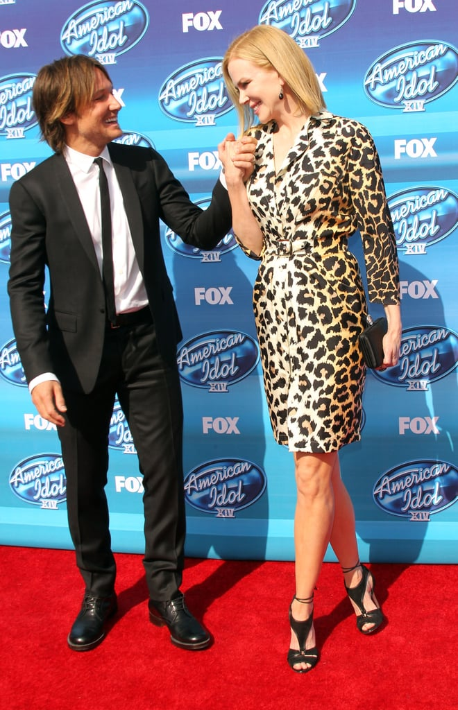 They only had eyes for each other in May 2015 at the American Idol finale in LA.