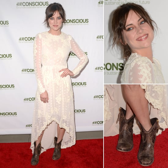 Jessica Stroup at H&M Conscious Party in SF | Pictures