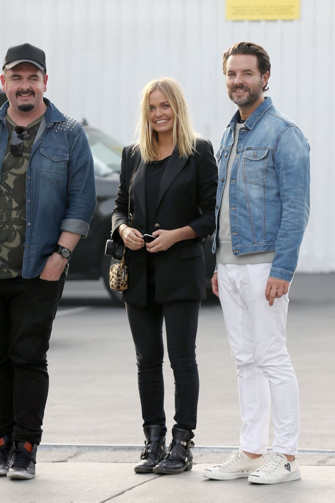 Lara Bingle Has a Laugh After an LA Photo Shoot With Cotton On