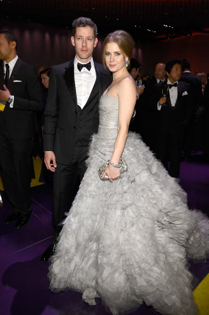 Amy Adams and Darren Le Gallo attended the Governors Ball.