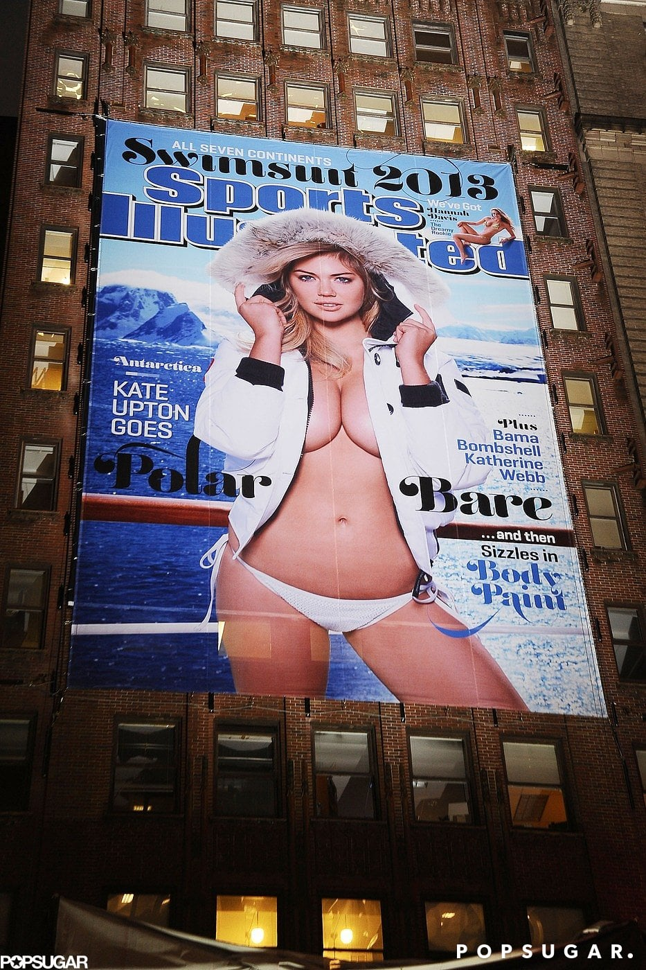 Kate Upton unveiled her Sports Illustrated Swimsuit Edition cover.