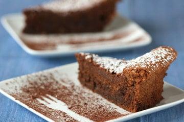 Yummy Link: Nearly Flourless Chocolate Cake