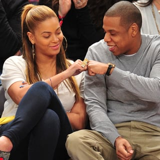 Beyoncé Knowles Jay-Z Knicks Nets Game (Video)