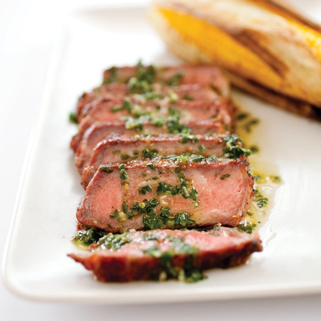 Argentine Steak With Chimichurri Sauce