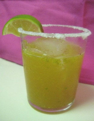 We love the twist on this jalapeno margarita. Be prepared! It packs a spicy punch.