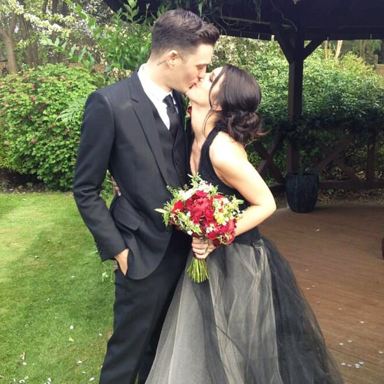 Shenae Grimes Marries Josh Beech In Black Vera Wang Dress
