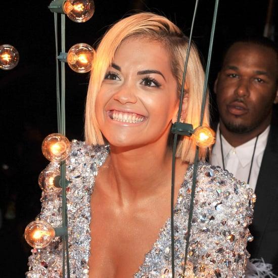 Rita Ora Celebrity Hair and Makeup at VMAs 2013