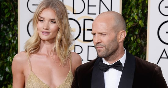 Rosie Huntington-Whiteley And Jason Statham Casually Confirm Engagement At The Golden Globes