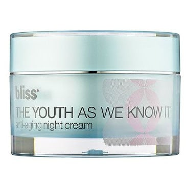 Review of Bliss The Youth As We Know It Night Cream