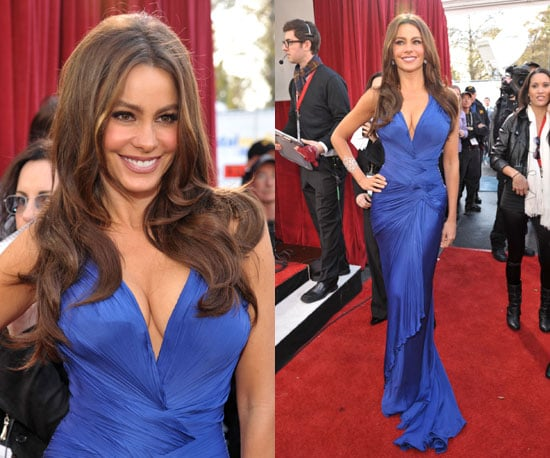 Sofia Vergara in Roberto Cavalli at SAG Awards 2011