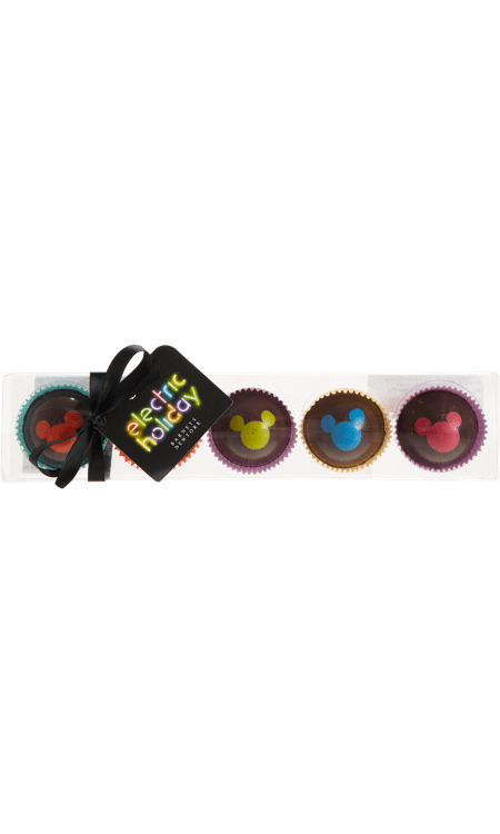 Here's a fashion gift that has almost nothing to do with fashion: Disney Electric Holiday x Barneys Mickey Mouse truffles ($34) are a deliciously chic treat with a festive touch. Plus, you don't have to go break the bank to get in on Barneys' latest collaboration.