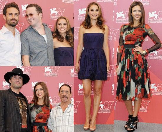 Pictures of Natalie Portman and Jessica Alba at Venice Film Festival