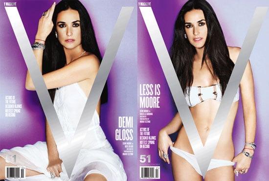 Demi Moore in V Magazine