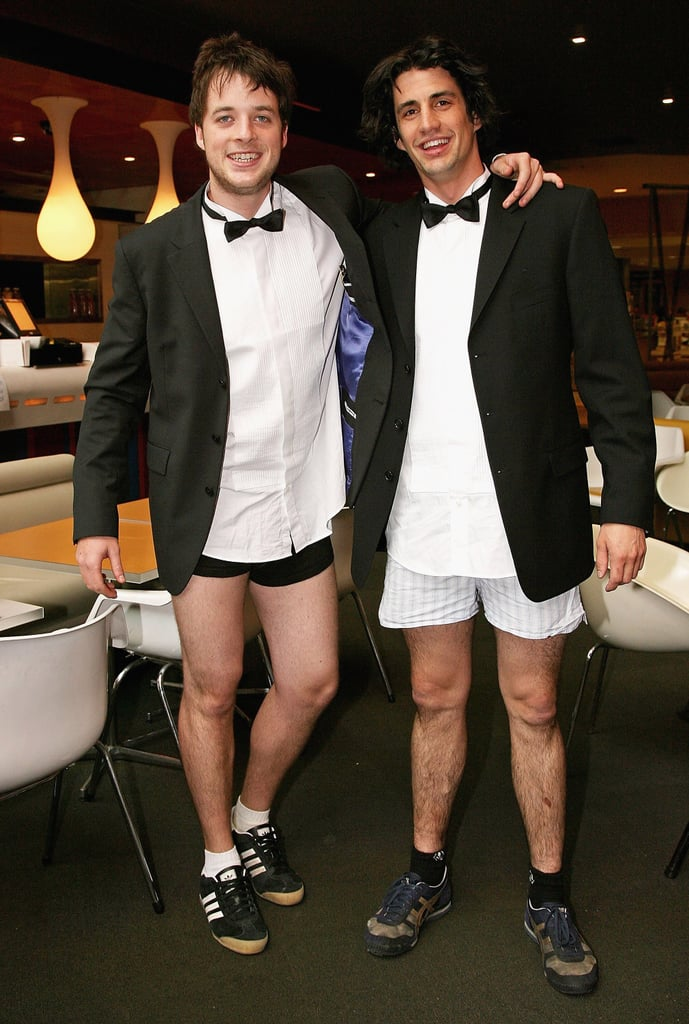 Hamish and Andy skipped pants for the Melbourne premiere of BoyTown in Oct. 2006.