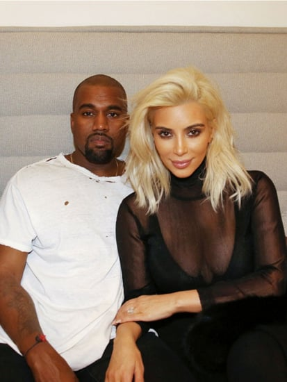 Kim Kardashian Says Madonna Inspired Her Newly Blonde Hair